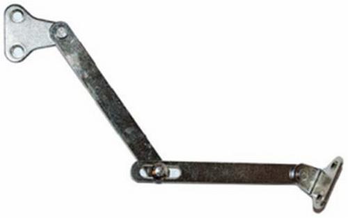 Schaar (nikkel) voor klapkasten L=278 mm
