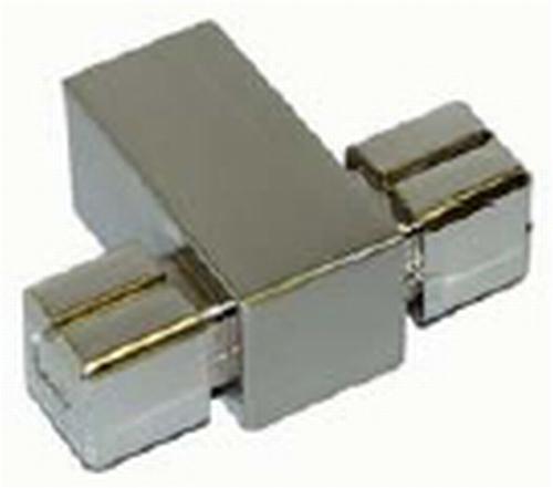 B016 Middenstuk voor Buis Tube 18x18mm (J23320)