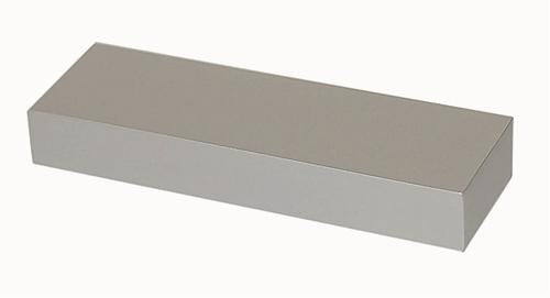 B021 Blokgreep 25x12mm L.110mm Aluminium Mat  (per stuk)