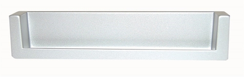 B026 Greep 743Z afst.128mm/ L.138mm Aluminium Mat  (per stuk)