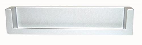 B026 Greep 743Z afst.128mm/ L.138mm Aluminium Mat