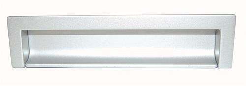 B027 Inkapgreep afst.160mm Zilver Mat