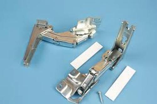 Koelkastscharnieren deur-op-deur o.a. Siemens / Bosch