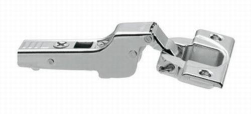 Blumscharnier 110° (halfopliggend)  ø 35mm compl.met grondpl  (per stuk)