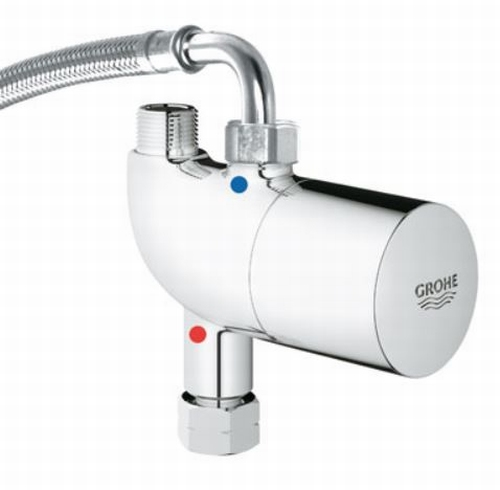 Grohe Grohtherm Micro onderbouwthermostaat 34487-000 chroom.