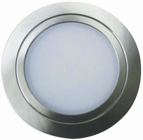 Nova LED spot - 12V inox-look.