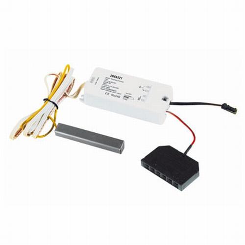 LED 12 Volt Touch dimmer/schakelaar rvs.
