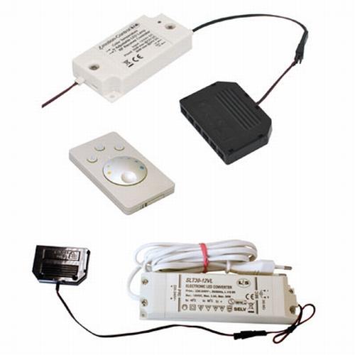 Emotion Led trafo kleur/dim-controller - 12V wit.