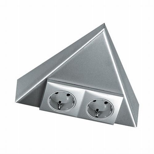 Triangle 2ST stopcontact rvs.