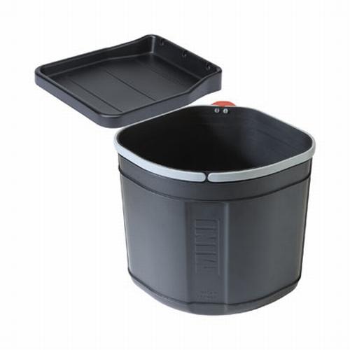 Franke Sorter Mini 17 liter afvalemmer zwart.