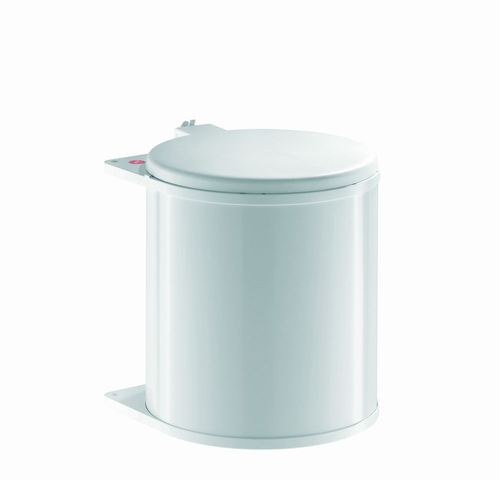 Hailo Big-Box 15 liter afvalemmer wit.