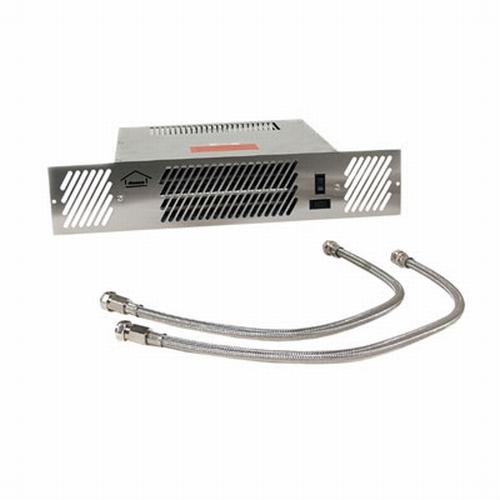 Plint-Heater/Kickspace CV - 1400 Watt roestvrijstaal.