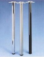 Tafelpoot ø 60mm H=1100 mm kleur: Chroom