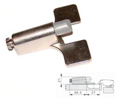 Opzetdemper voor Mepla (uitsluitend 110/90graden)