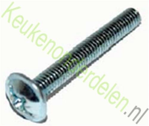 Afbreekbare schroeven M4x45 geschikt voor grepen + knoppen