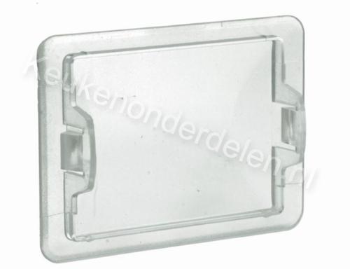 Glaasje afzuigkap vierkant 6,8 X 5 CM