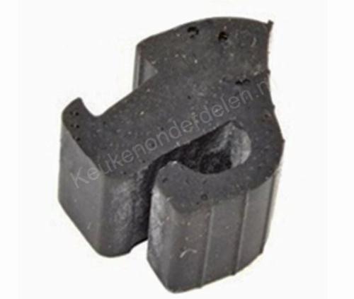 Pannendrager van klem (rubber)