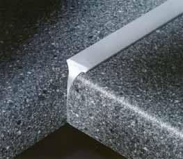 Aluminium verbindingsprofiel voor werkbladen