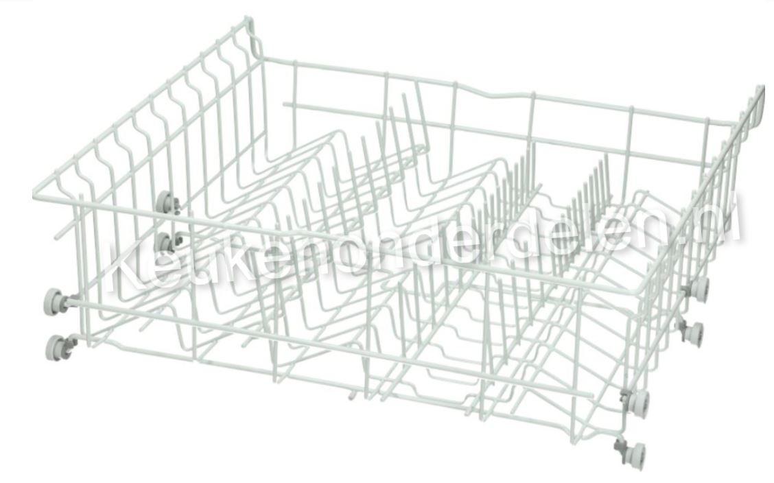 Complete boven korf incl. wielen (Bosch)