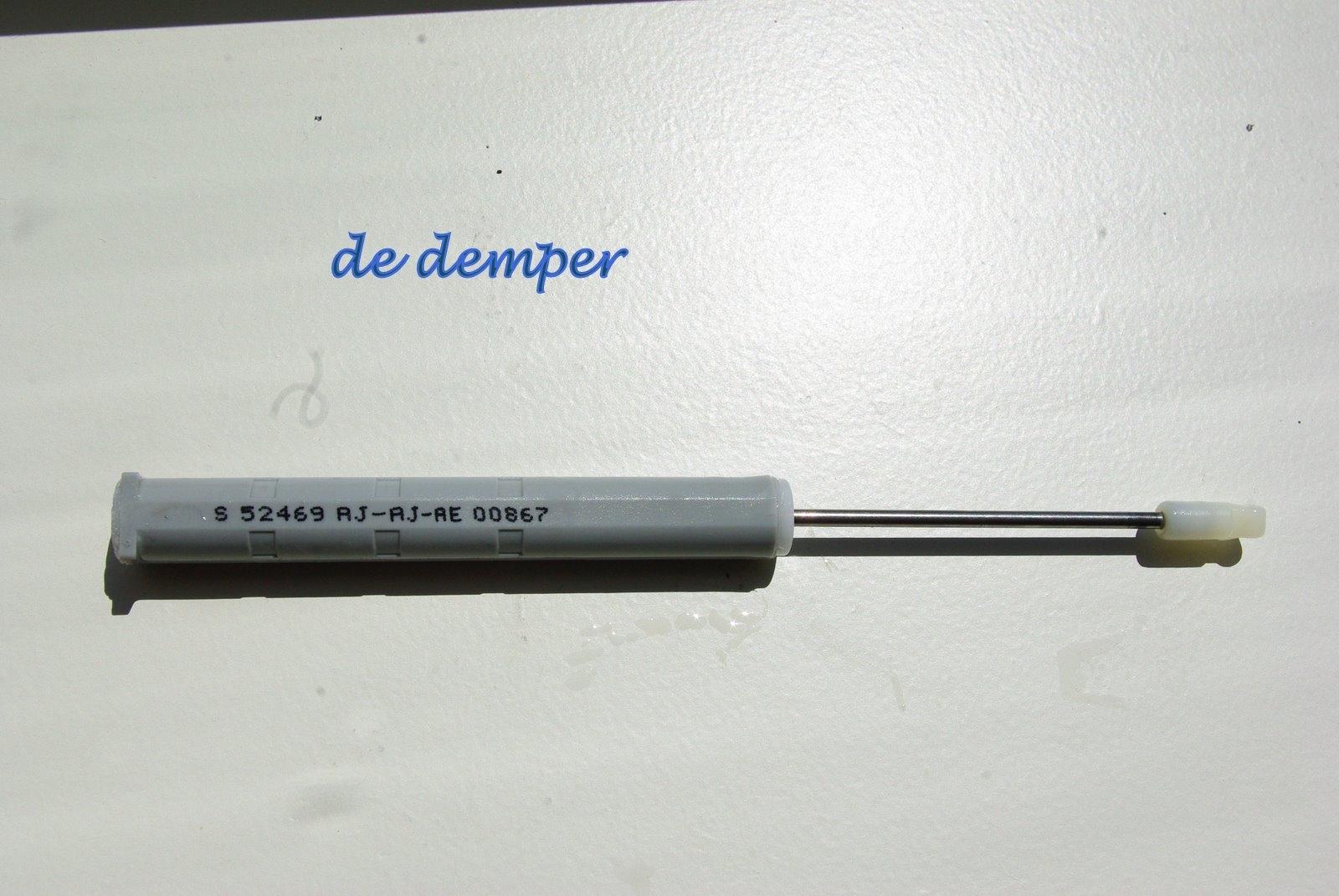 Demper siliconen gevuld voor MEPLA Lade Dynamic XP