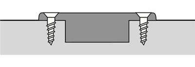 Hettich hoekkastscharnier voor 90° hoeken, set van 3