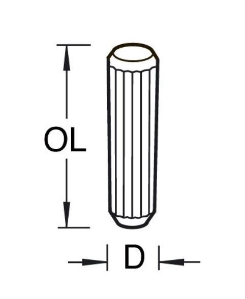 Houten deuvels (per 10 st.)