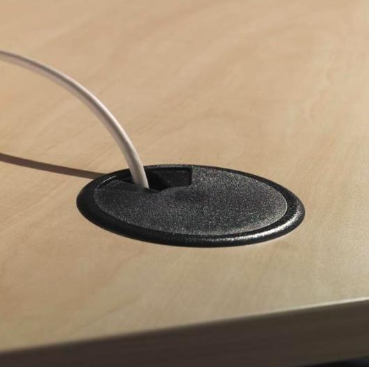 Kabeldoorvoer (60) zwart