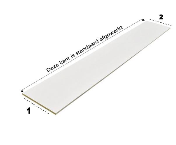 Plint hoogte 14,5 cm tot 19,5 cm (Alleen af te halen)