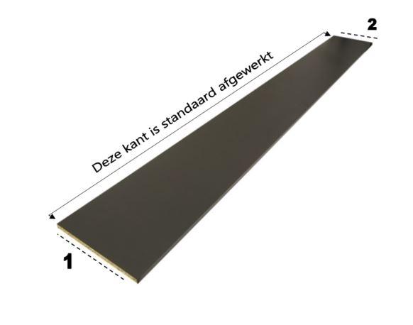 Plint hoogte 5 cm tot 14 cm  (Alleen af te halen)