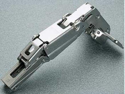 Salice scharnier 165° ø 35mm compl.met grondplaat (clip)