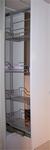 Apotheekbeslag 60cm hoogte vanaf 1310 t/m 1710mm Chroom