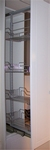 Apotheekbeslag 50cm hoogte vanaf 1610 t/m 2010mm Chroom (per stuk)
