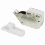 Duwsnapper Mini-latch staal tegenplaat in kunststof (per stuk)
