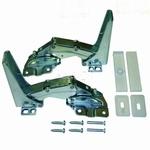 Koelkastscharnieren deur-op-deur o.a. Bauknecht / Whirlpool