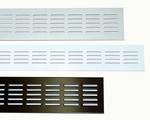 Luchtrooster aluminium 50 cm x 10 cm (per stuk)
