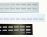 Luchtrooster aluminium 50 cm x 10 cm