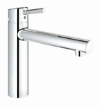 Grohe Concetto Medium 31128 chroom.