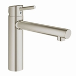 Grohe Concetto Medium 31128 supersteel. (per stuk)