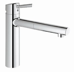 Grohe Concetto Medium 31129 chroom. (per stuk)