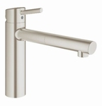 Grohe Concetto Medium 31129 supersteel. (per stuk)
