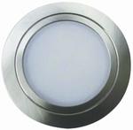 Nova LED spot - 12V inox-look. (per stuk)
