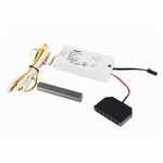 LED 12 Volt Touch dimmer/schakelaar rvs.  (per stuk)