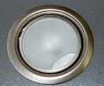 Halogeenspot RVS-look inbouw (per stuk)