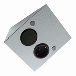 Dinox ST/S stopcontact met schakelaar rvs (per stuk)