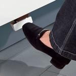 Hailo Kick & Go voetpedalen 3691-30 aluminium (per stuk)