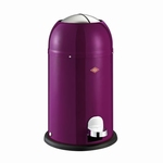Wesco Kickmaster Junior 15 liter afvalemmer blackberry. (per stuk)