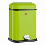 Wesco Single Boy 13 liter afvalemmer lime green. (per stuk)