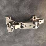 Hettich scharnier 165° ø 35mm incl. grondplaat (clip) OP=OP