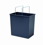 Hailo 1 x 24 liter - 350 mm hoog Donker grijs