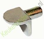 Volmetalen schapdrager voor boring ø 5mm